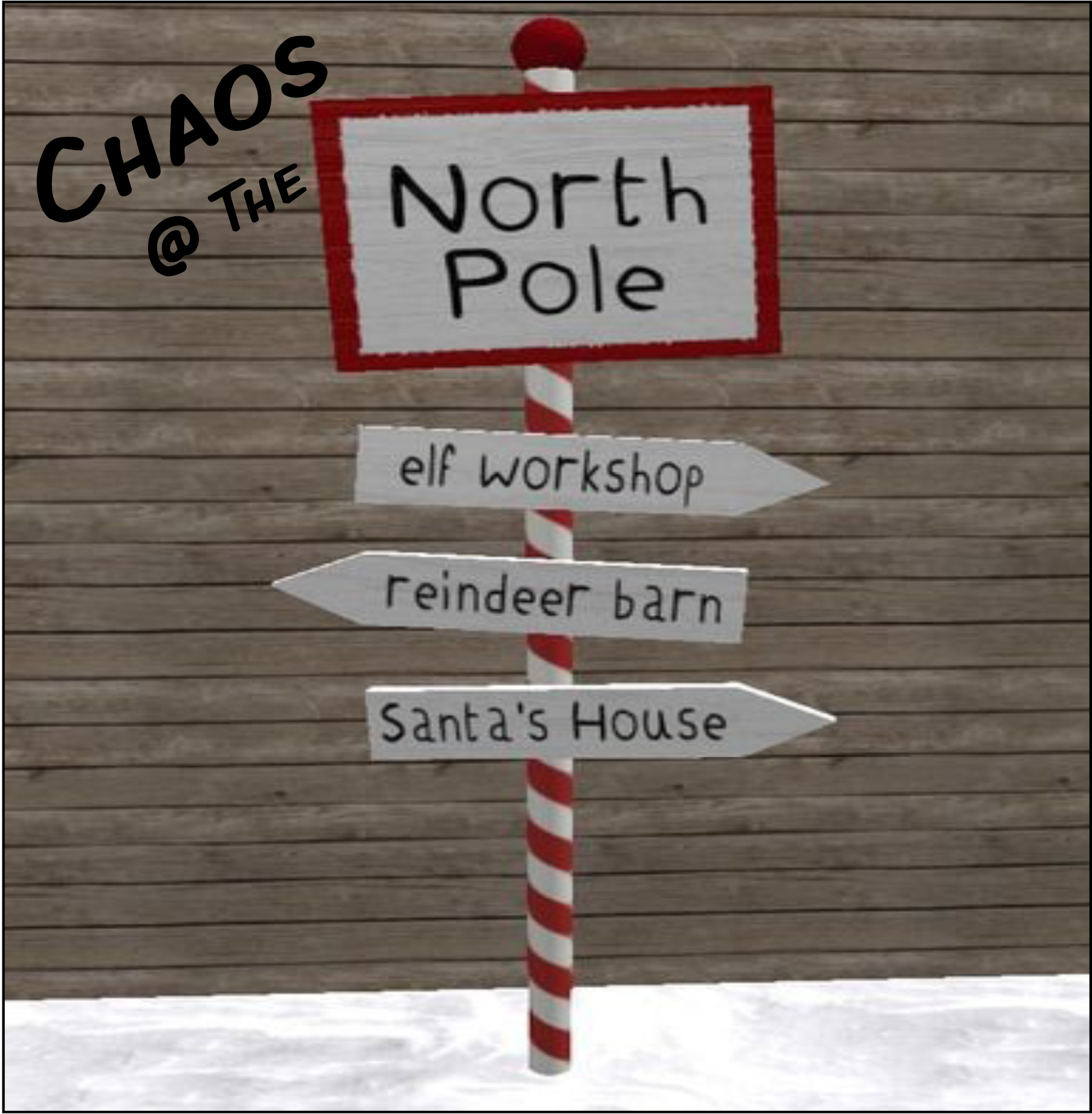 Chaos at the North Pole